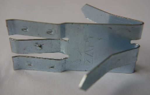 ZAPF Metallklammern für Abdeckleiste 10er Pack